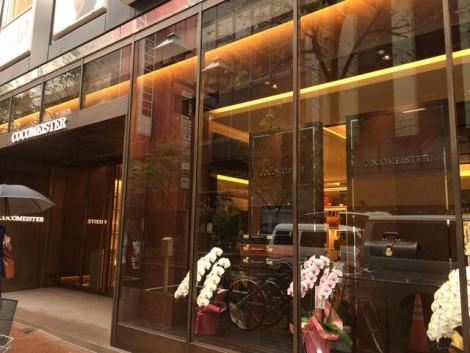 ココマイスター銀座並木通り店(バッグ専門店)へ行ってきました!