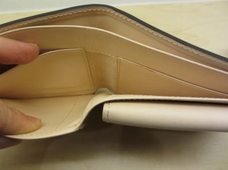 コードバン二つ折り財布 ココマイスター