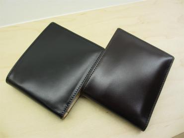 コードバン・二つ折り財布の拡大写真