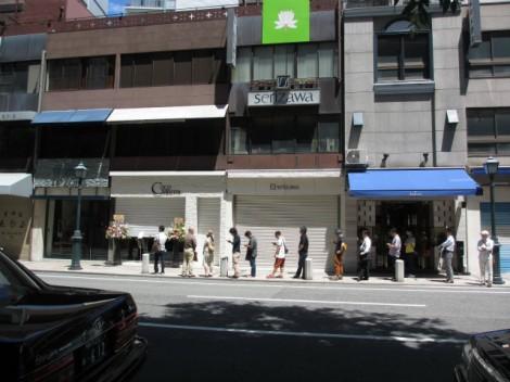 ココマイスター神戸店 開店前